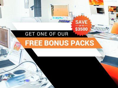 Get a free bonus pack